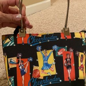 Cheerleader purse and matching wallet